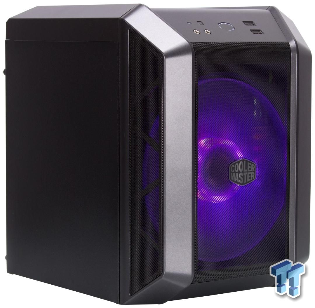 Cooler Master Mastercase H100 Mini Itx Chassis Review In 2020 Mini Itx Cooler Master Mini