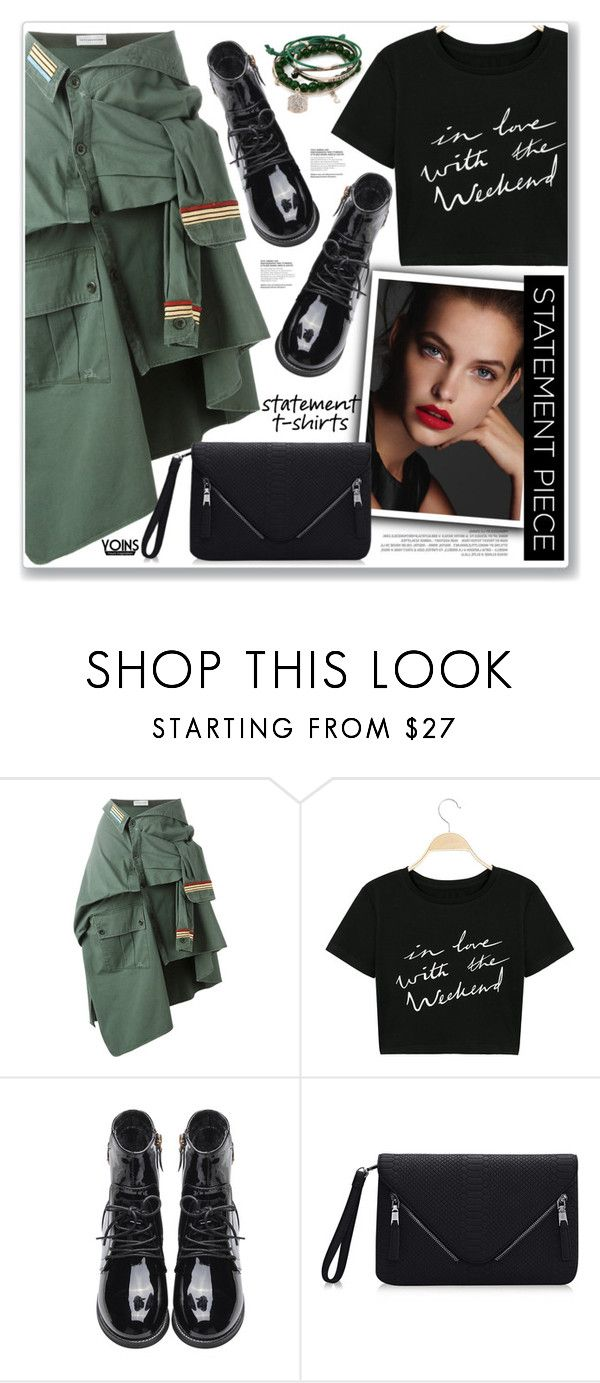 """""""LOVE YOINS"""" by nanawidia ❤ liked on Polyvore featuring Faith Connexion"""
