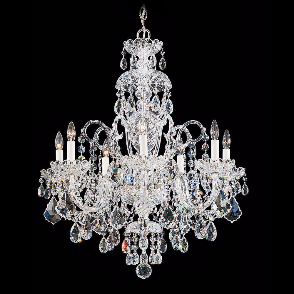 Schonbek Olde World Collection 25 Wide Crystal Chandelier