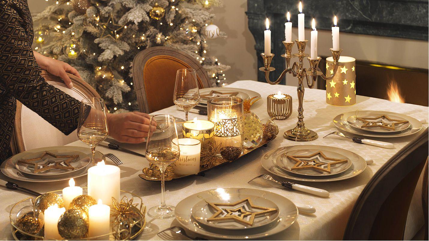 Addobbi Natalizi Maison Du Monde.Accessori Decorativi Christmas Is In The Air Table Xmas