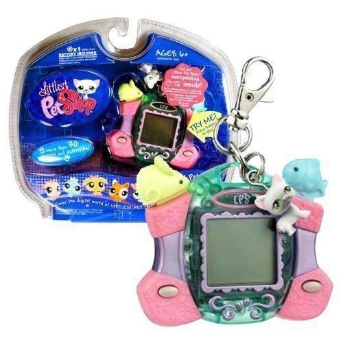 Hasbro Year 2007 Littlest Pet Shop Digital Pets Care For Me