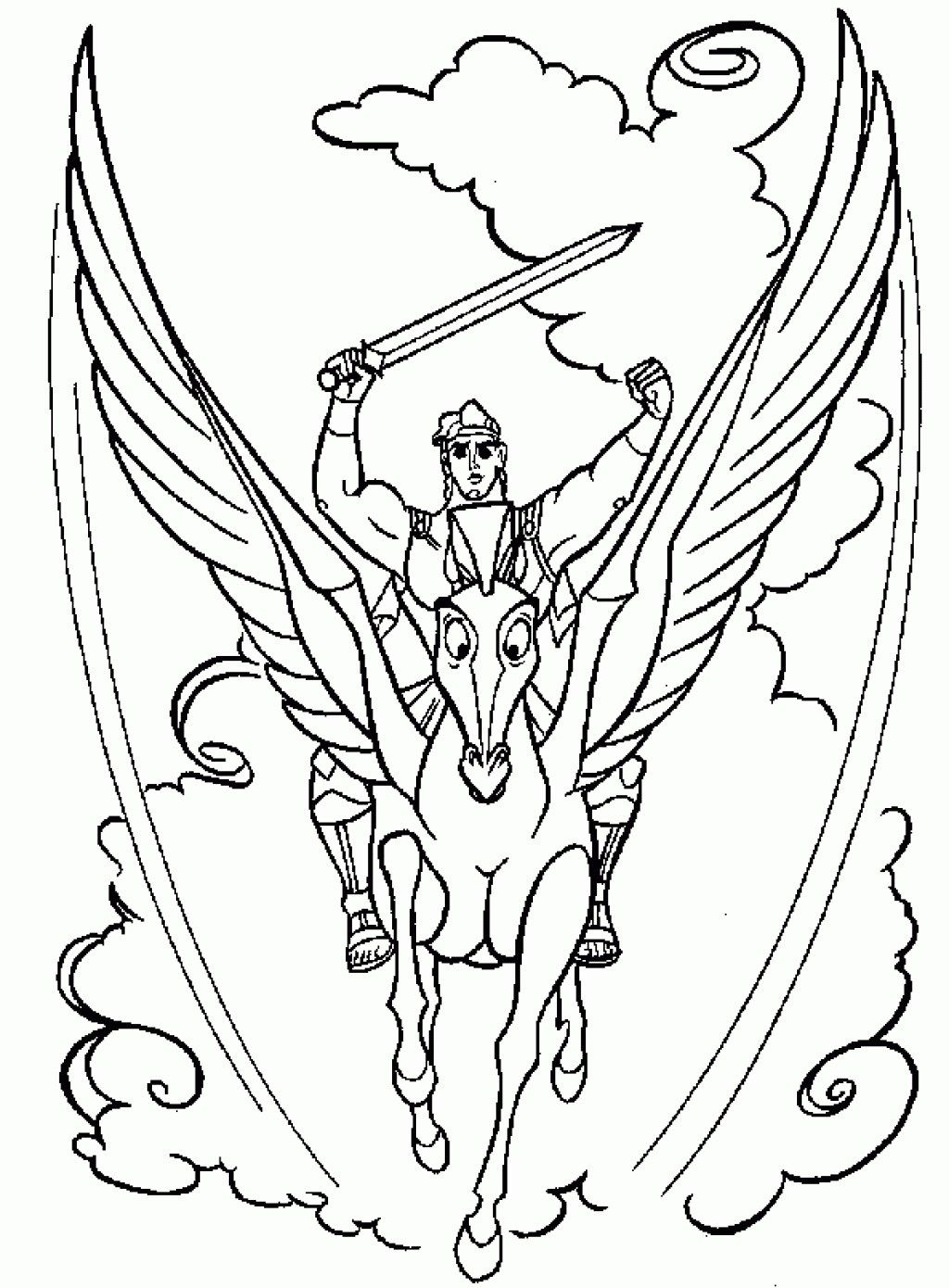 Pretty Photo Of Hercules Coloring Pages Davemelillo Com Free Coloring Pictures Cartoon Coloring Pages Monster Coloring Pages