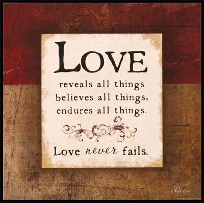 Love 1 Corinthians 13 Wooden Wall Plaque Quotes Be