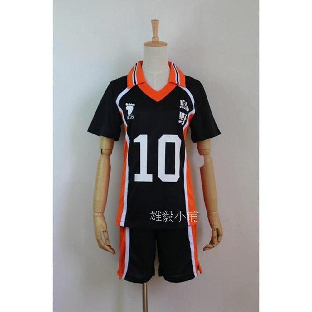 Anime Haikyuu Karasuno High School Volleyball Club Cosplay Costume Sportswear Haikyuu Jerseys Shirt Uniform Cosplay Costumes Haikyuu Cosplay Cosplay