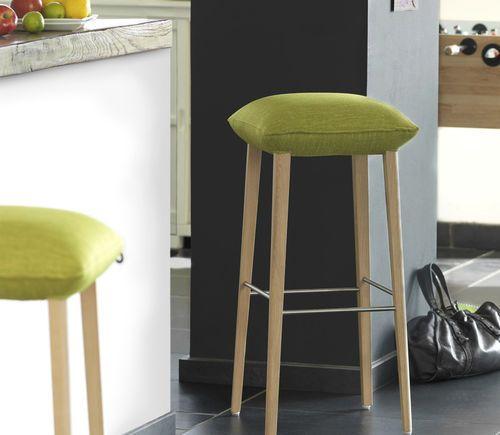 Barhocker / modern / aus Holz / Polster SOFT STOOL UNI H82 -A ... | {Barhocker modern 72}