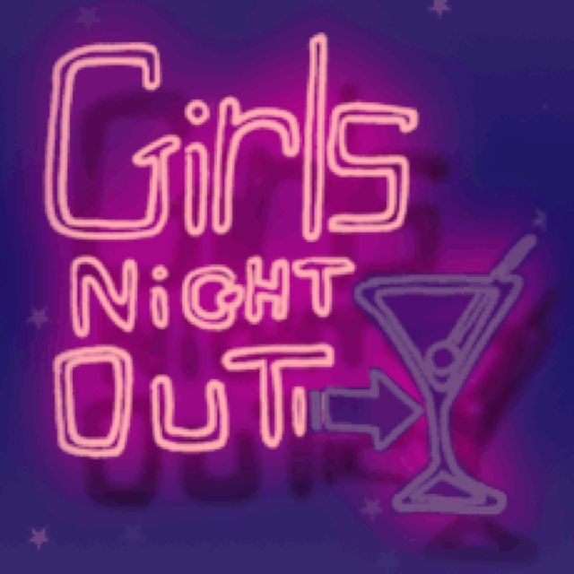 Girls Night Out Quotes Tumblr: Board Covers- Neon Signs
