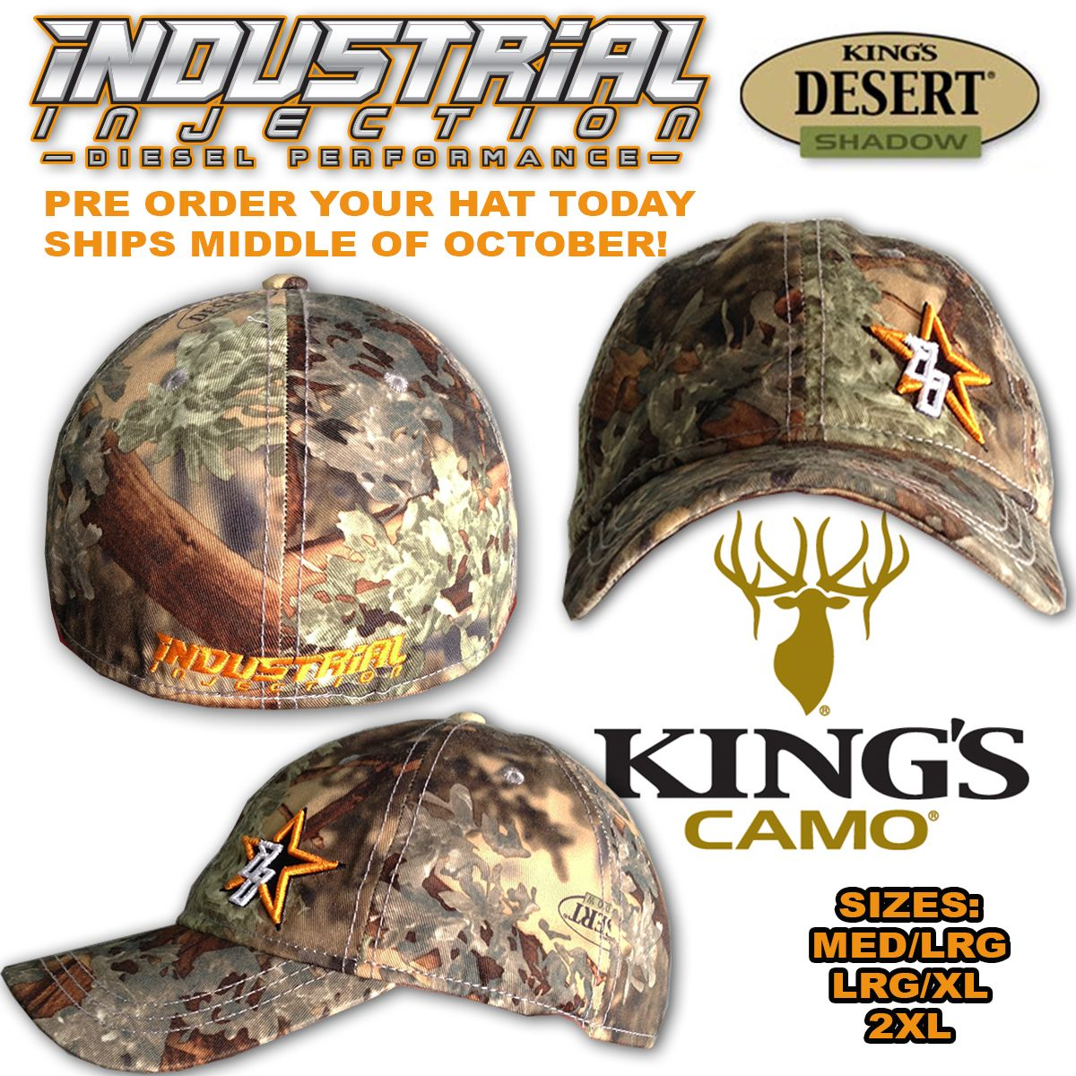 Shop | Category: Mens Apparel | Product: Kings Camo Desert