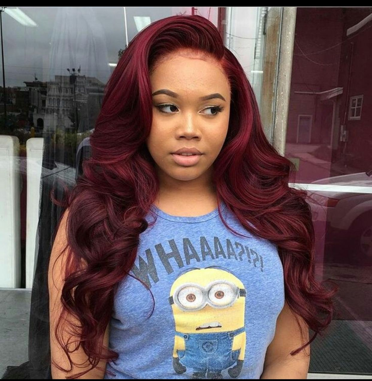 I Love This Dark Red Color I Need It This Is What I Will Try Next
