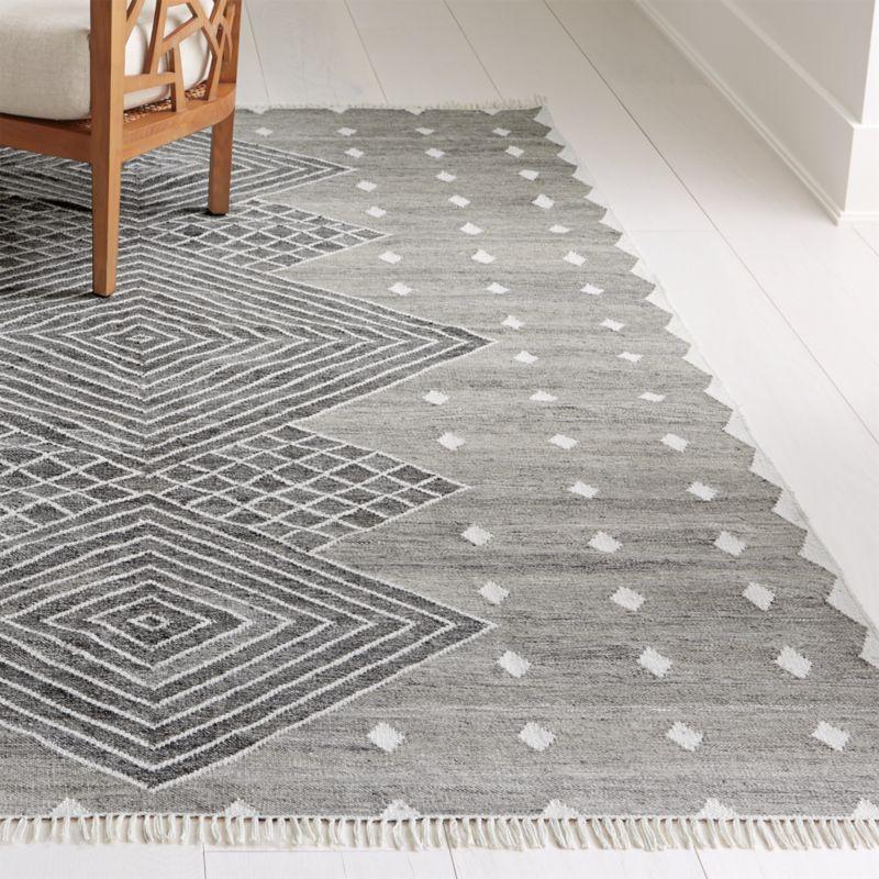 Ceri Grey Indoor Outdoor Rug Crate And Barrel Indoor Outdoor Rugs Indoor Outdoor Carpet Outdoor Carpet