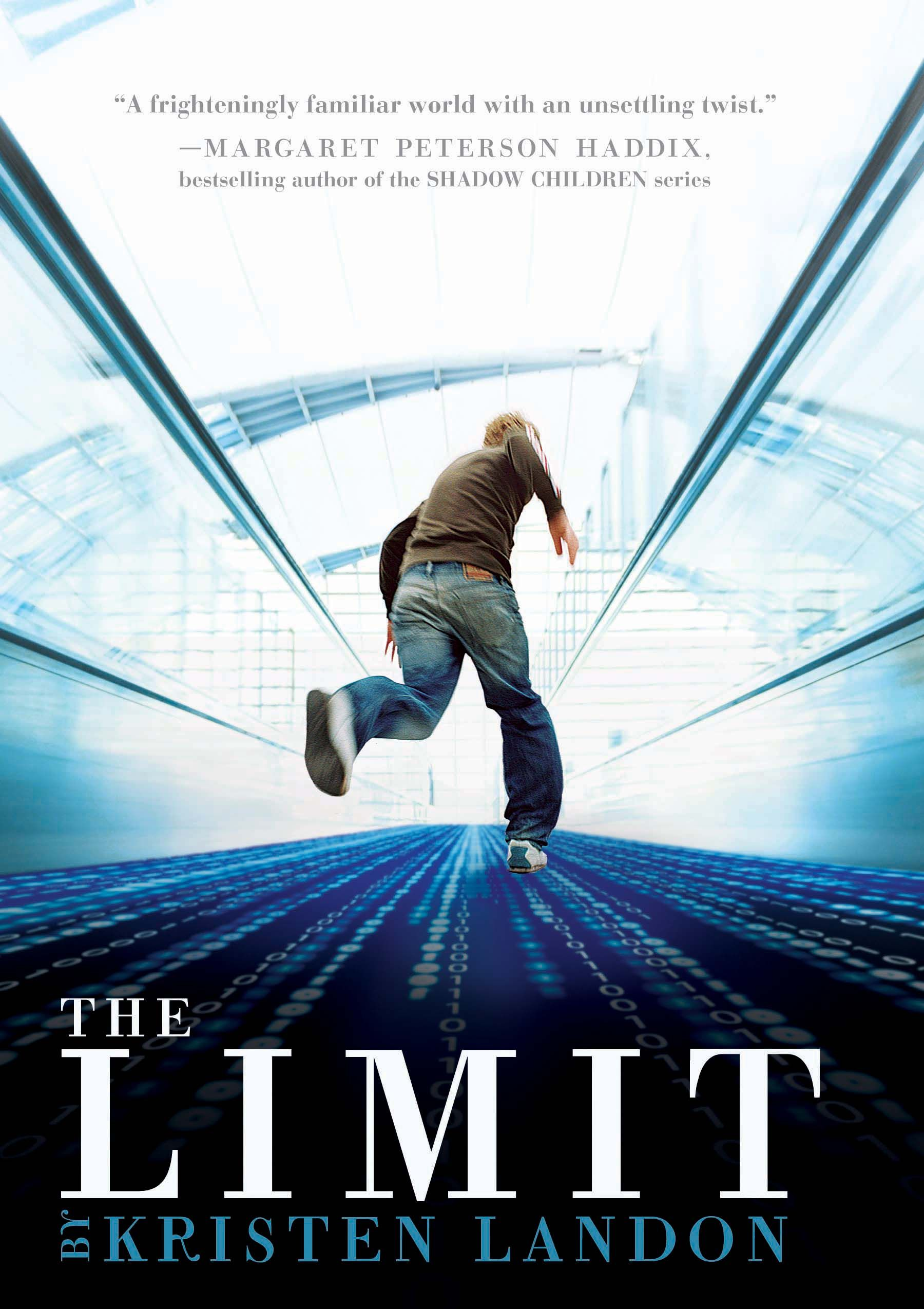 New: The Limit by Kristen Landon. In the not so distant future, when adults get into debt the government takes their children and sends them to special workhouses. This novel follows 13 year old Matt as he navigates his tumultuous new future once he is snatched up by the government due to his parents overspending.