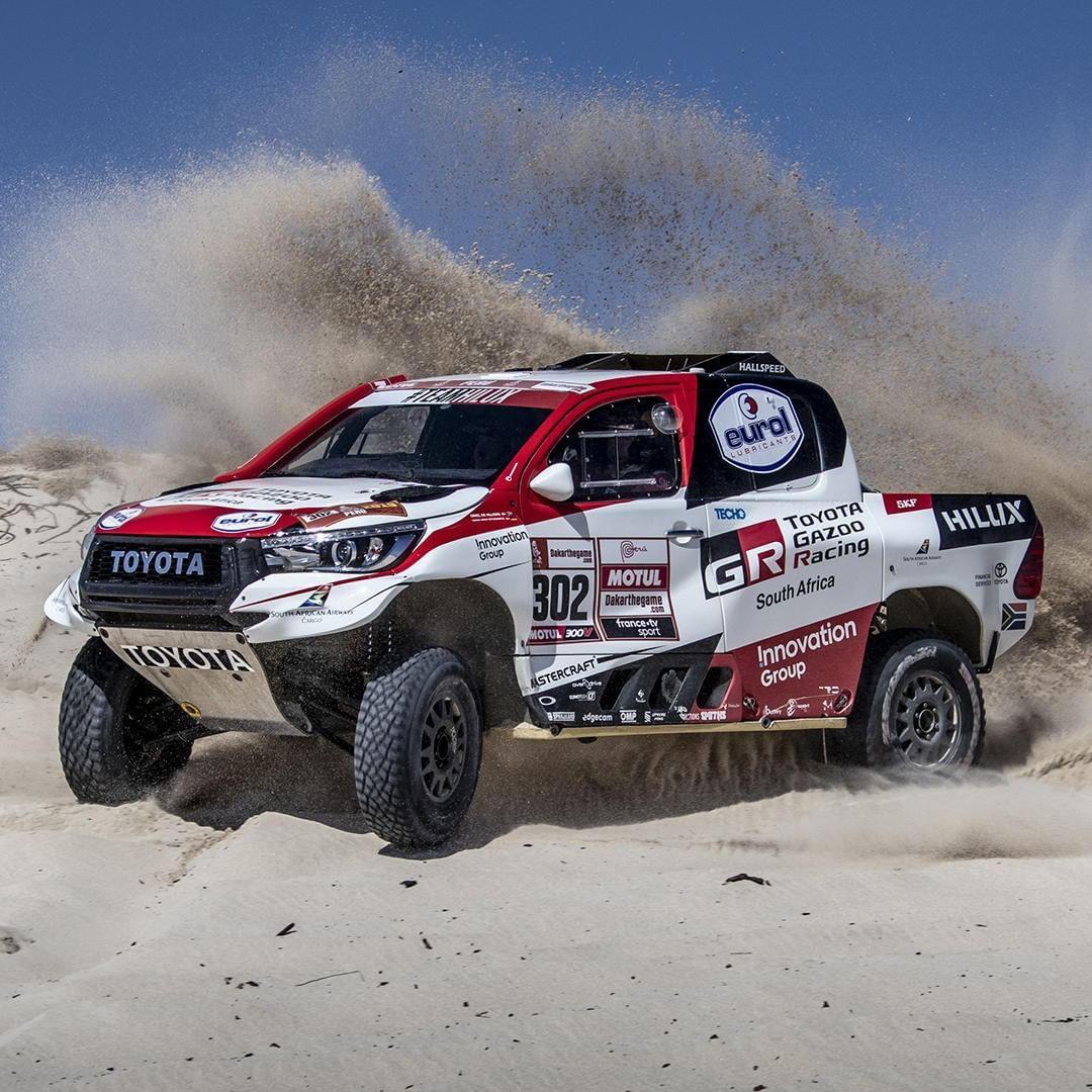 Toyota Uk On Instagram The Hilux Has Begun Its 2019 Dakar Rally Adventure Toyota Hilux Teamhilux Dakar Dakarrally Peru O Toyota Hilux Toyota Dakar