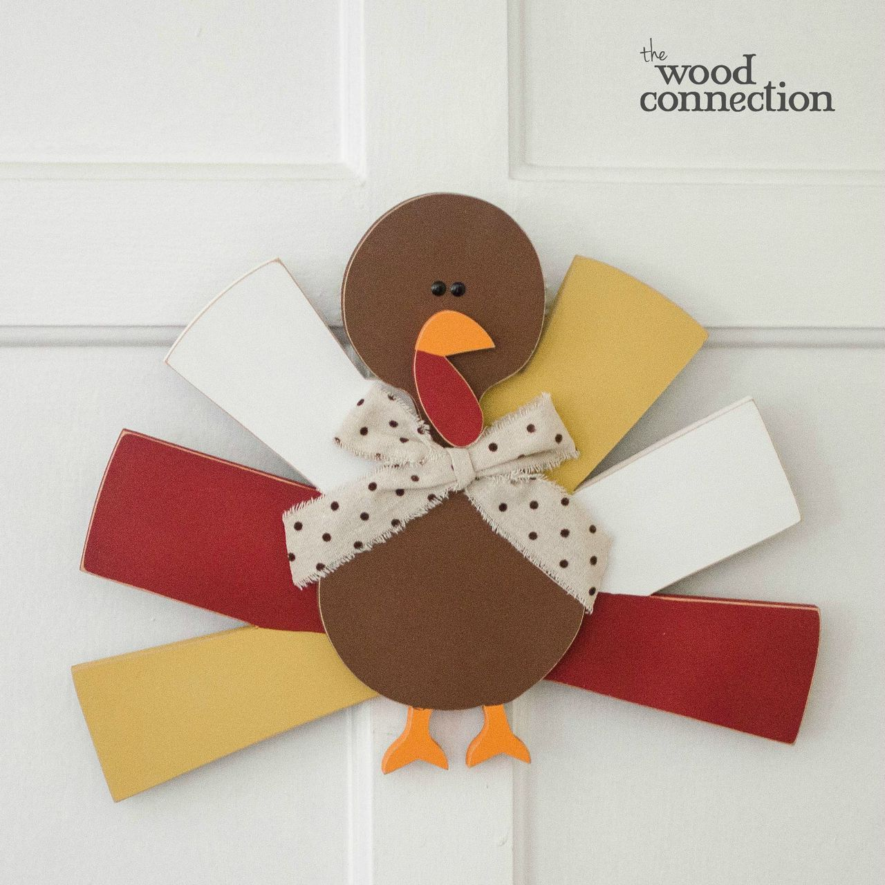 Turkey Door Hang Thanksgiving Decorations Diy Diy
