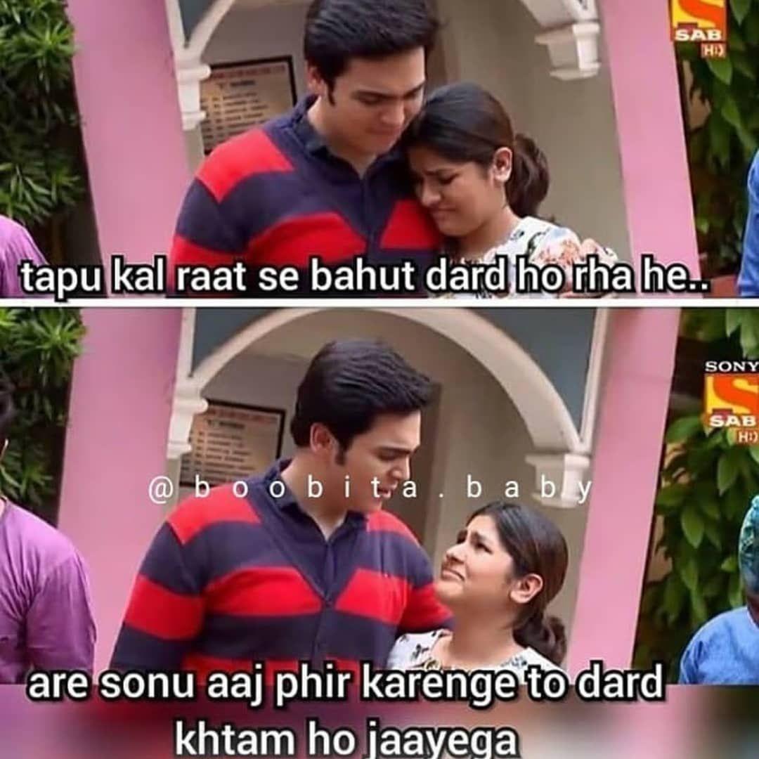 Sabtv Tmkoc Jethalal Dayabhabhi Tapu Jethaji Tapusena Bhide Babitaji Friendsforever Anjalibhabh Very Funny Jokes Funny School Memes Funny Love Jokes