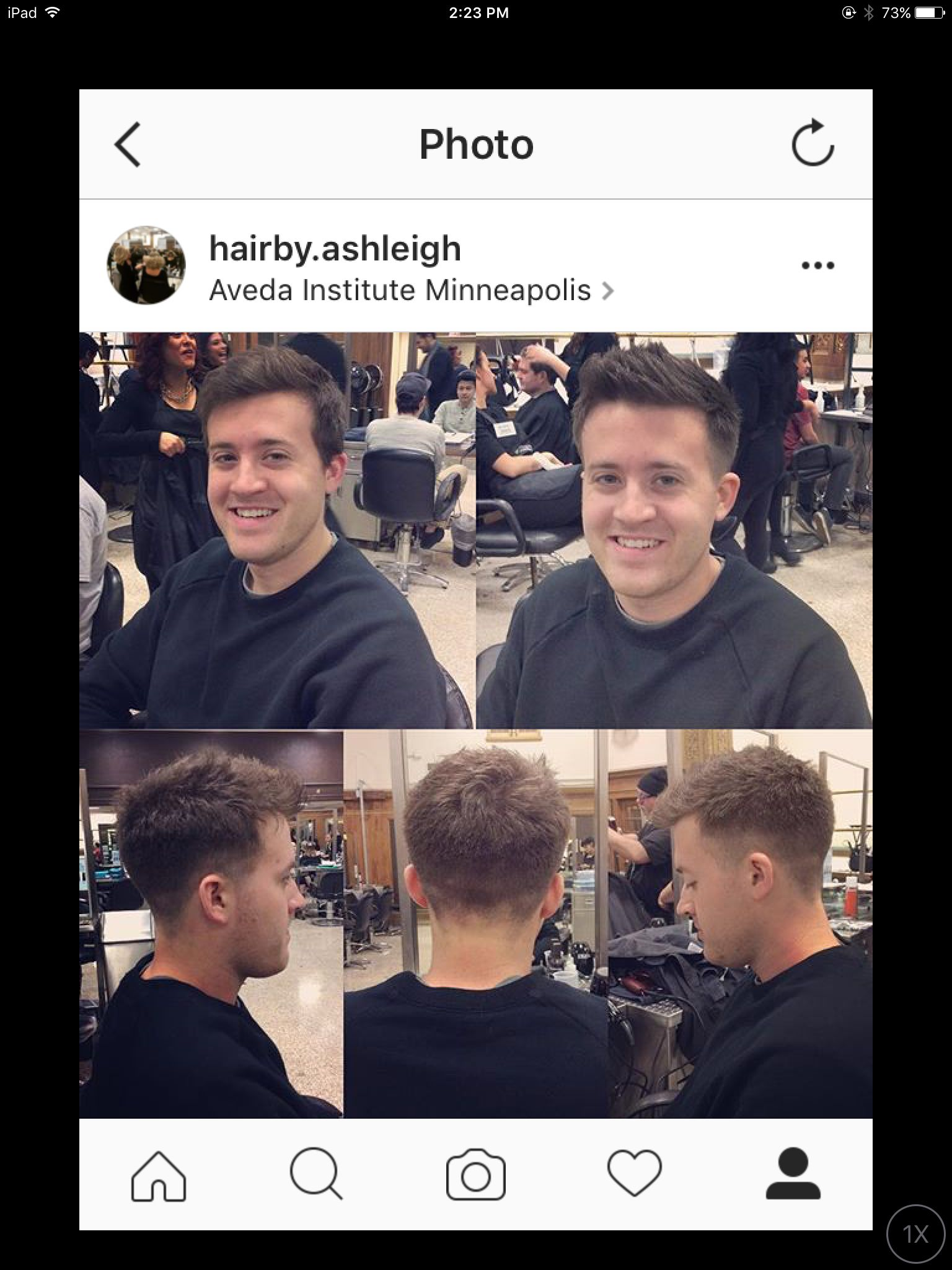 Mens haircuts minneapolis before and after fade with clipper over comb technique free handed
