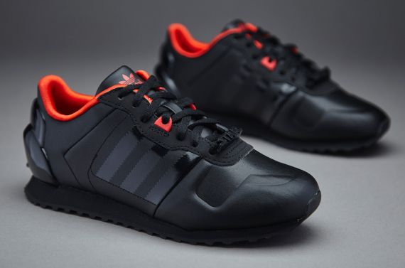 Grey Black Womens Pink Edge Technology Adidas Zx 700 Retro Trainers Shoes