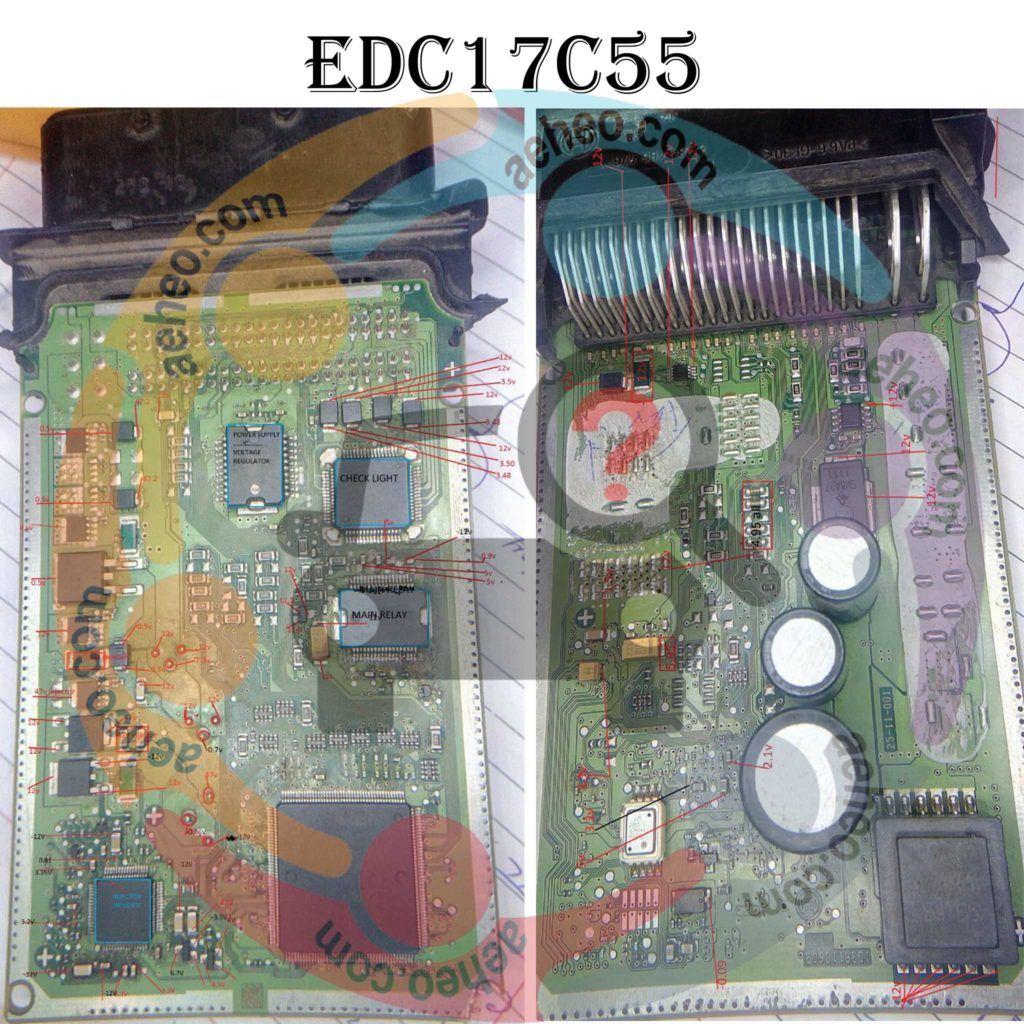 Bosch Edc17c55 Ecm Pinout Bosch Repair Manuals Repair
