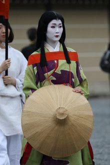 Ayano as Yokobue during Jidai Matsuri