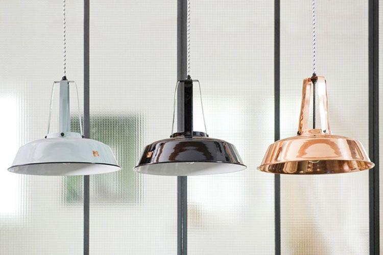 Inspiratie: De industriële lampen van HKliving | Woonguide.nl