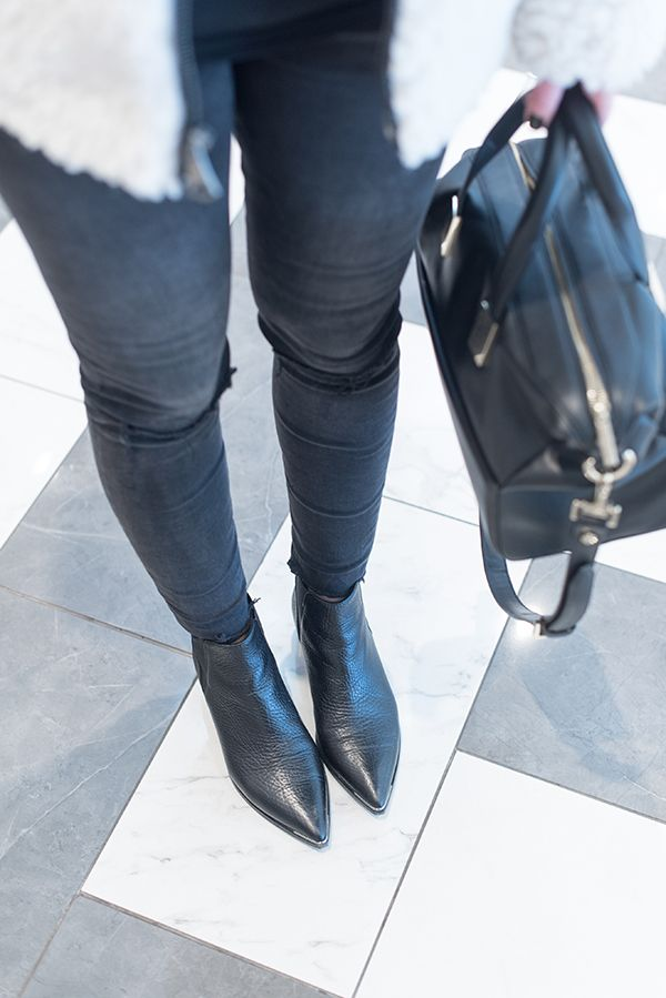 MY FAVORITE BOOTS ACNE JENSEN | Boots, Socks and heels