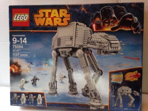 LEGO STAR WARS - AT-AT - Includes Poster - 75054 - NEW! https://t.co/lYCWfuDtm0 https://t.co/S05h1OJOUG