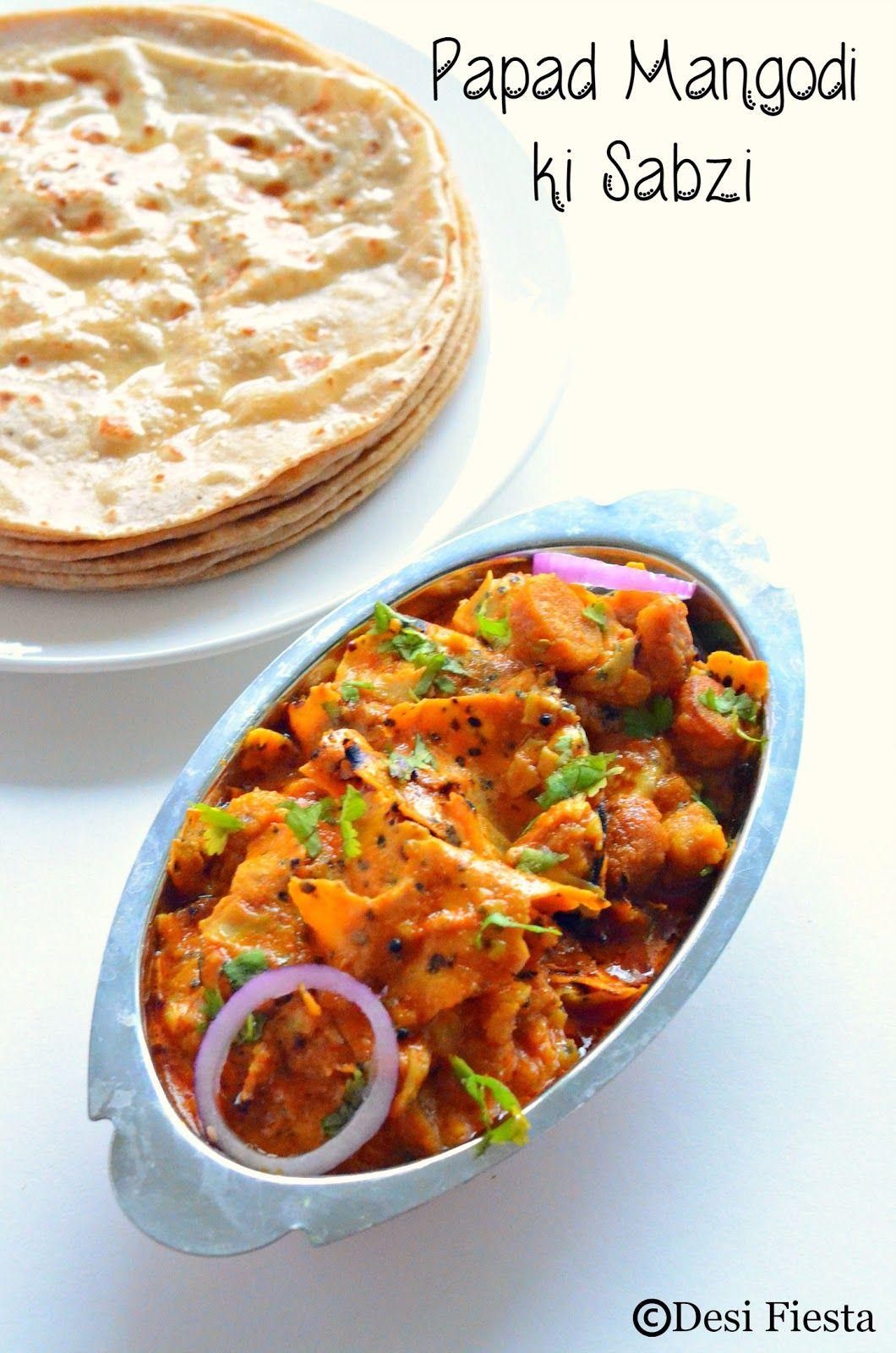 Papad mangodi ki sabzi rajasthani cuisine pinterest cuisine papad mangodi ki sabzi rajasthani foodrajasthani forumfinder Image collections