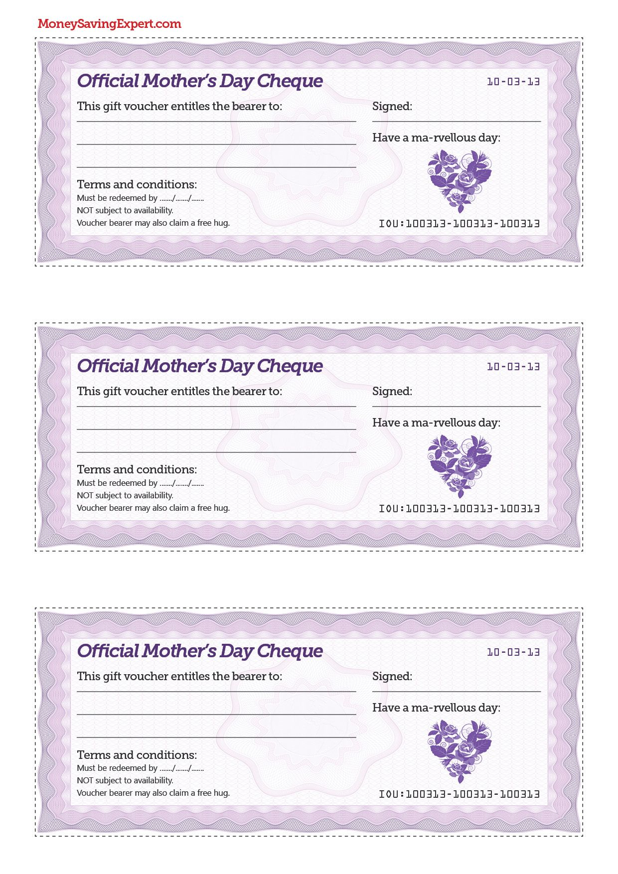 Mother\'s Day cheques, great idea! | crafts | Pinterest | Check and ...
