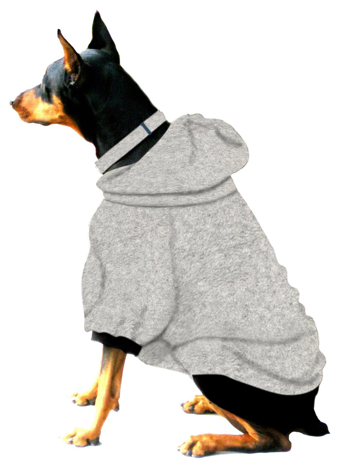 Amazon Com Boxer Doberman Dog Sweatshirt For Large Dog 60 To 90 Pounds Heather Grey Pet Coats Pet Supplies Dog Sweatshirt Doberman Dogs Doberman [ 1835 x 1361 Pixel ]