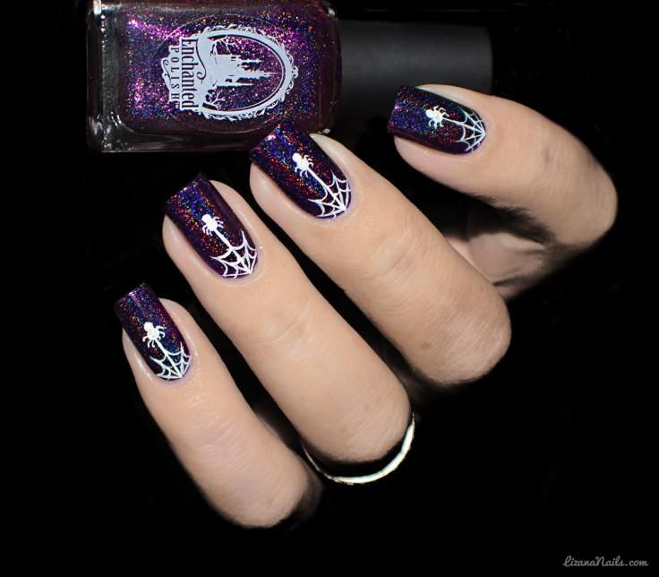 17 Nail Art Designs For Kids Will Want To Show Off This Upcoming School Year Kids Nail Designs Halloween Nails Nail Art For Kids