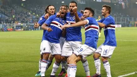 Giampaolo aveva ragione: il Derby è arrivato nel momento giusto. Bravura e fortuna hanno aiutato in questa vittoria. Grazie ragazzi.