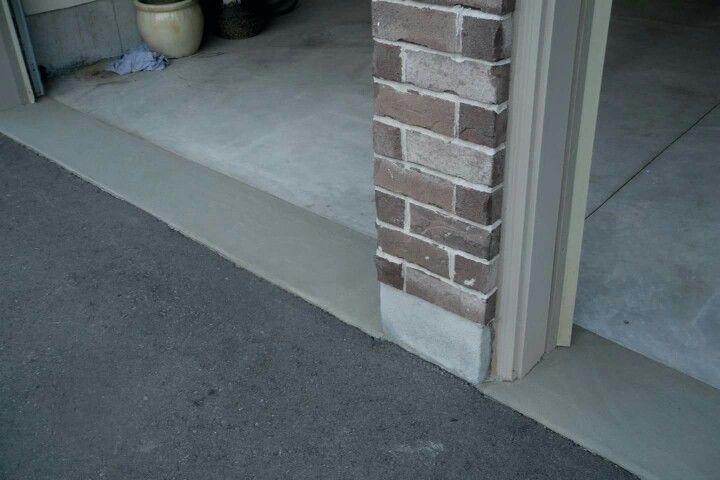 Garage Aprons Garage Floor Repair Amp Resurfacing Garage