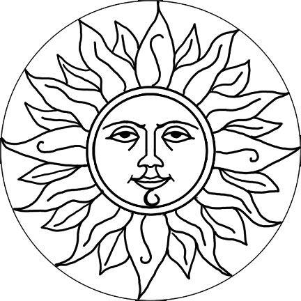 CLIP ART GALORE Sun Design