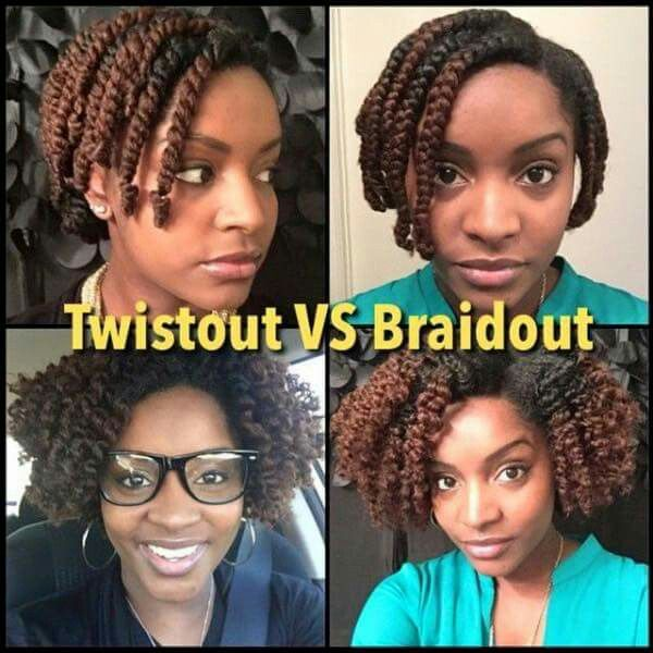 Easy Chunky Flat Twist Out Tutorial For Natural Hair Curly Nikki