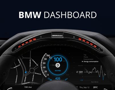 Bmw Car Dashboard Design Information Design Pinterest