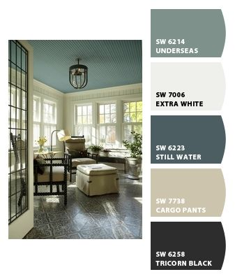 House colors. Made with Chip It! by Sherwin Williams!