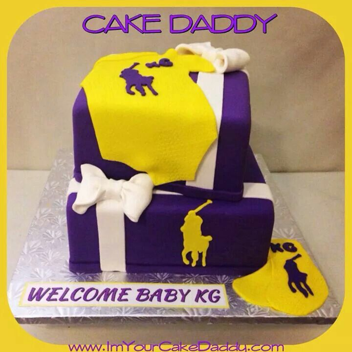 Purple And Gold. Polo Themed Baby ShowerThemed ...