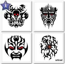 Resultat d'imatges de dibujos tatuajes tribales