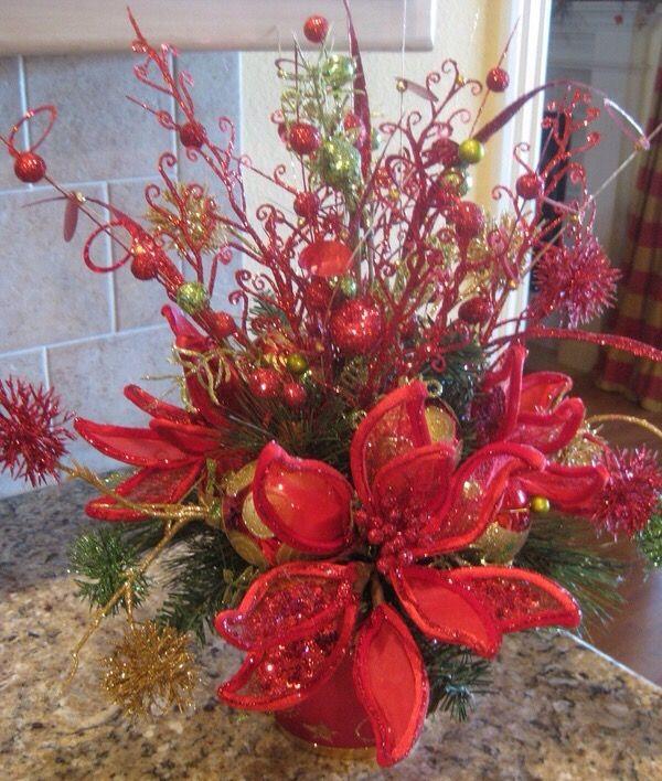 Arreglos De Navidad Para Mesa Ideal Para Centro De Mesa Un Bowl - Arreglos-navideos-para-mesa