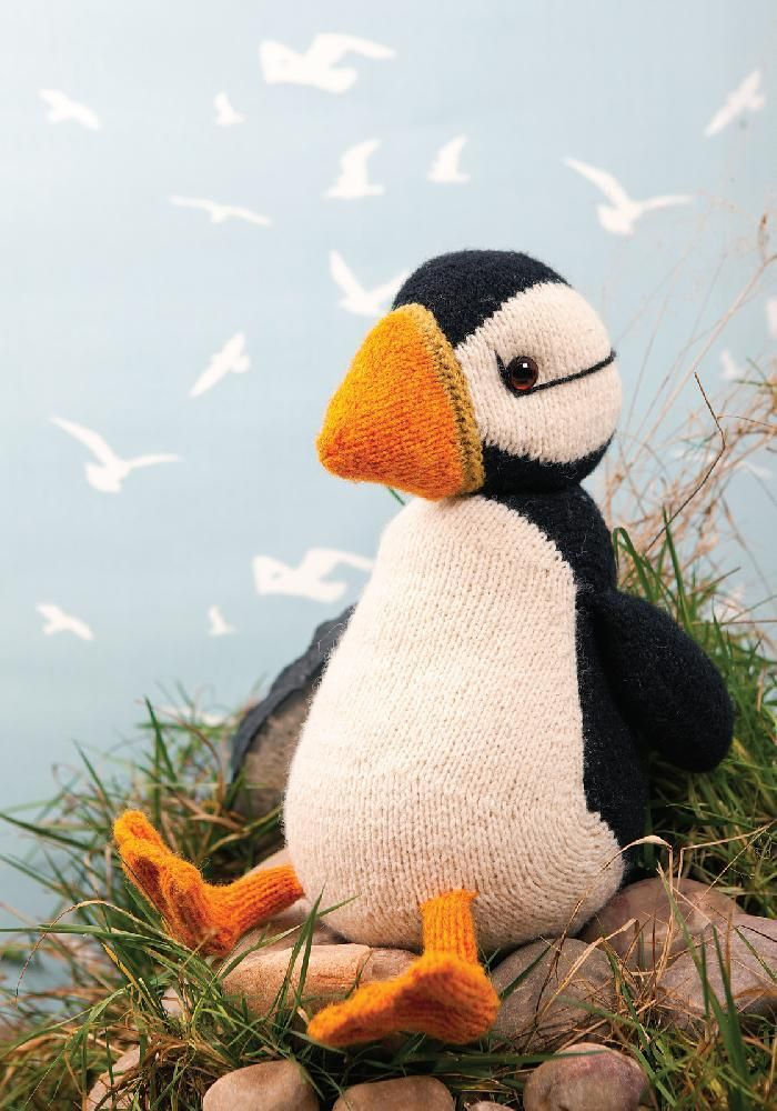 Jamie the Shetland Puffin | Pinterest | Knit patterns, Patterns and Toy