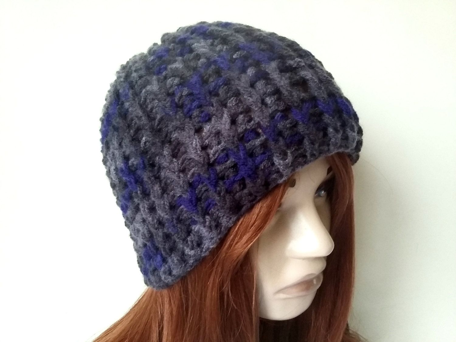 Unisex Knitted Hats, Men Knitted Hats, Women Knitted Hat, Hand Knitted Hats,  Men Crochet Hats, Gray Men Hats, Winter Knitted Hats, Men Bere 100% handknit,  ...
