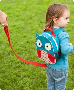 Skip Hop Zoo Safety Harness Mini Backpack With Rein Kid Leash