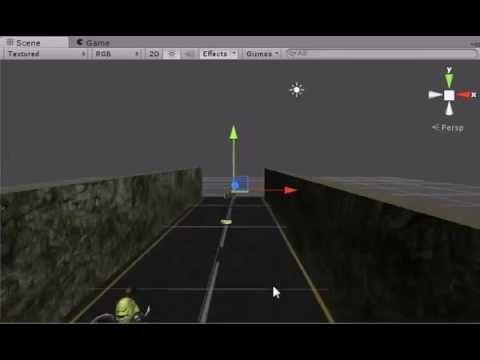 Learn Unity-Unity3D Workshop Temple Run Tutorial path 2