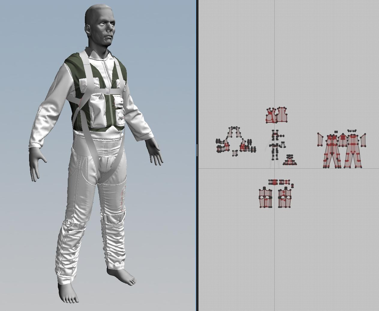 Overview On Creating Character Clothing Via Patterns With