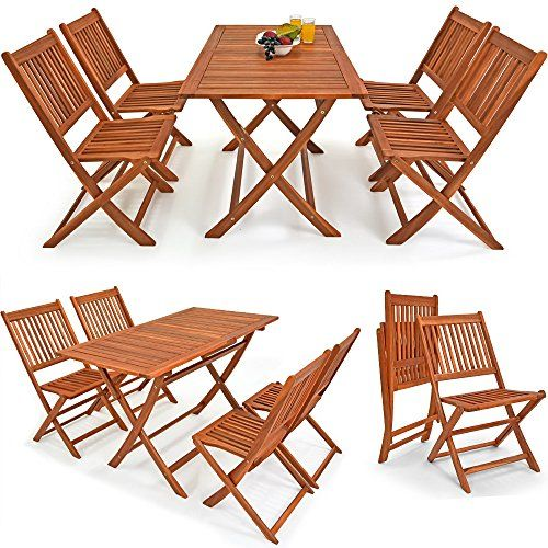 Salon De Jardin Sydney Light 5 Pcs Bois D Acacia Ensemble Table