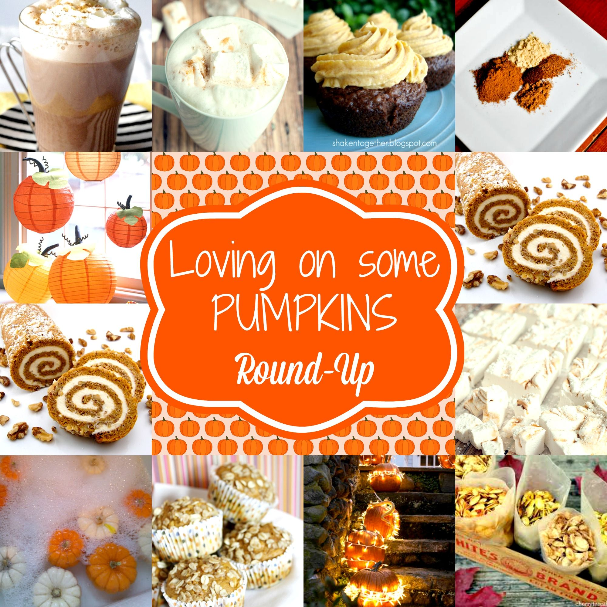 Falling in love with Pumpkins. Pumpkin round-up  #fall #pumpkin #recipes