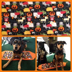10 Minute Halloween Table Runner