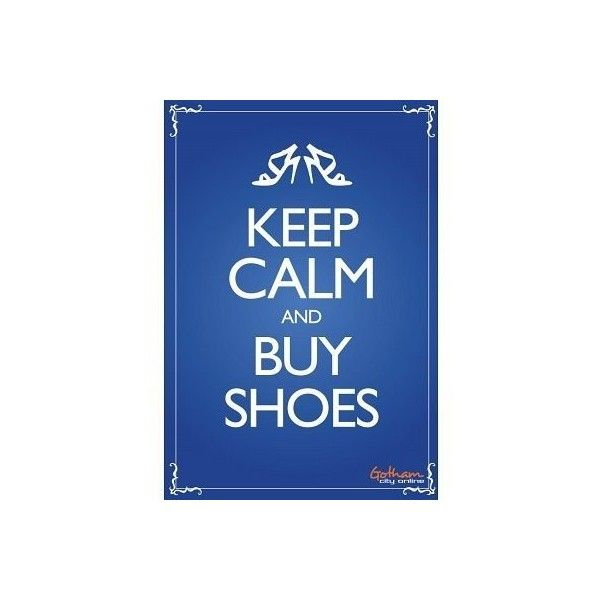 Keep Calm Decals ❤ liked on Polyvore