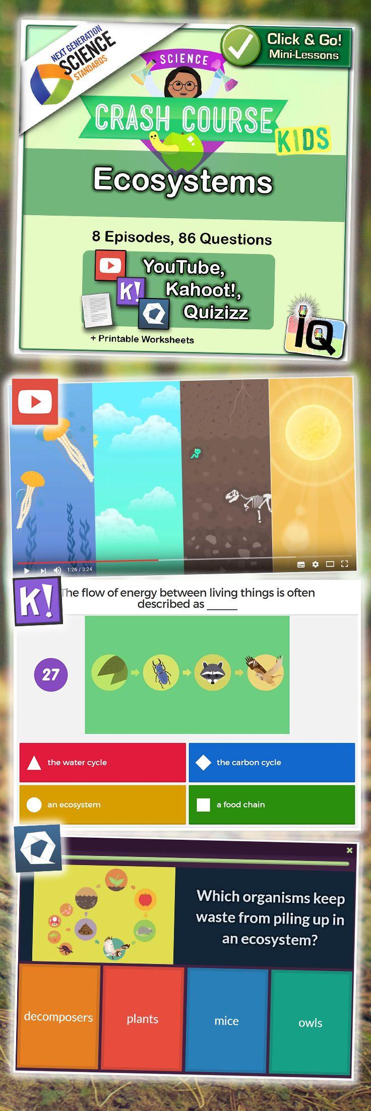 Crash Course Kids, Ecosystems Environmental education