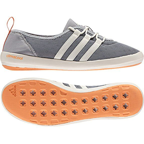 detailed look 9412b e1358 Amazon.com  adidas Outdoor Womens Terrex Climacool Boat Sleek Water Shoe,  BlackChalk WhiteMatte Silver, 7 M US  Water Shoes