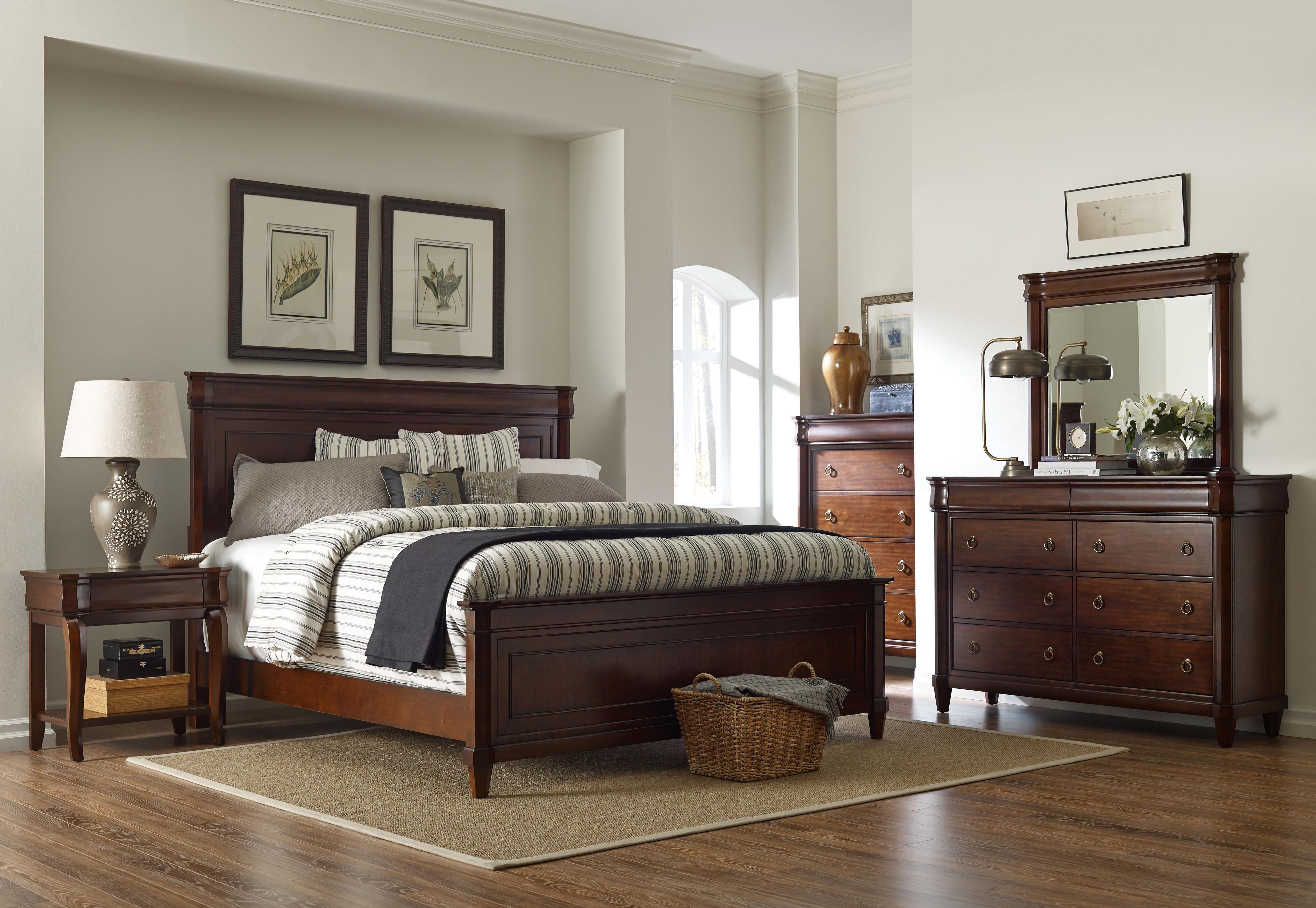 aryell king bedroom groupbroyhill furniture at darvin