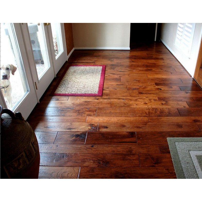 Hudson Bay Random Width Engineered Hickory Hardwood Flooring In